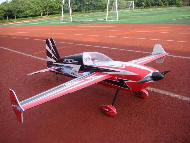 "Skywing 55"" Edge 540 - A in Red, Black and Blue"